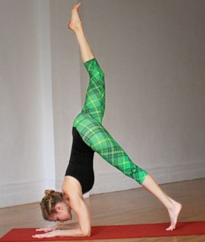 get vertical master the forearm stand  inversions yoga