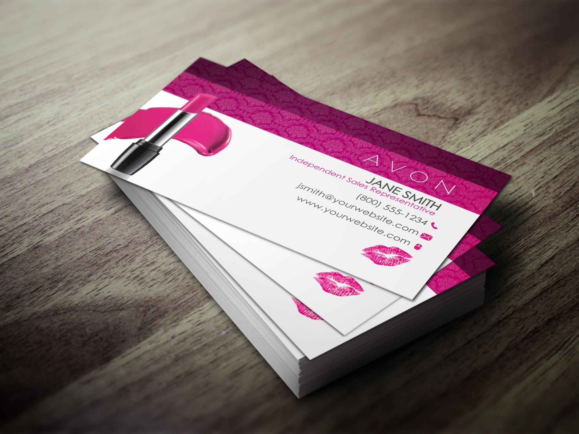 Avon Business Cards | Avon, Business cards and Business
