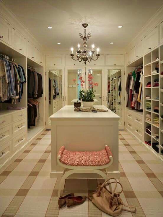 Begehbarer kleiderschrank tumblr  Closet #mujer #bolsos #zapatos #ropa #moda #femenina #pink #girly ...