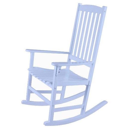 target white rocking chair office cushion walmart willow bay patio 27 front porch pinterest