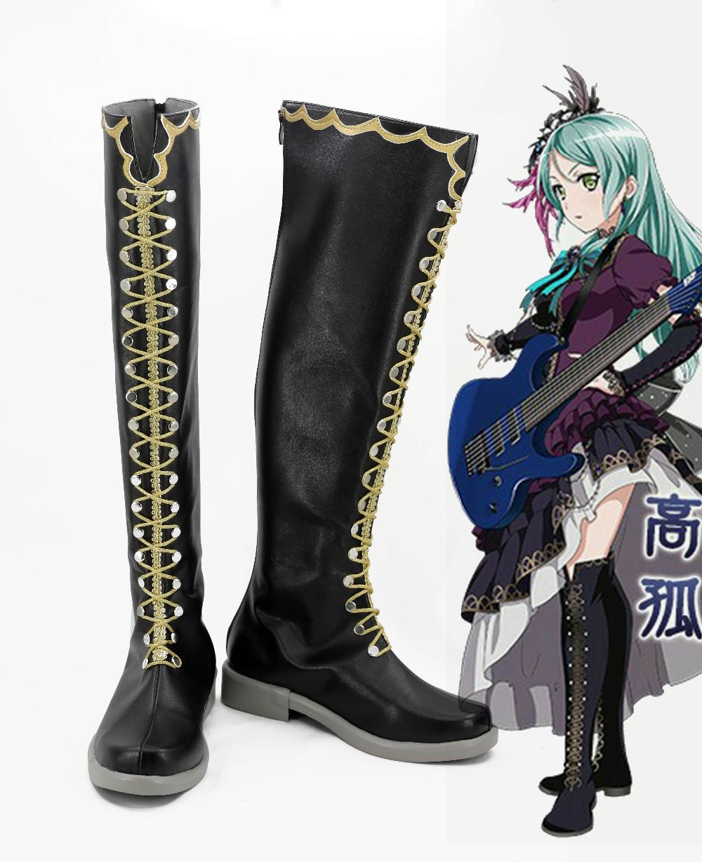 bang dream cosplay costume japanese anime unisex school sports shoes boots custom lolita single shoes # & bang dream cosplay costume japanese anime unisex school sports shoes ...