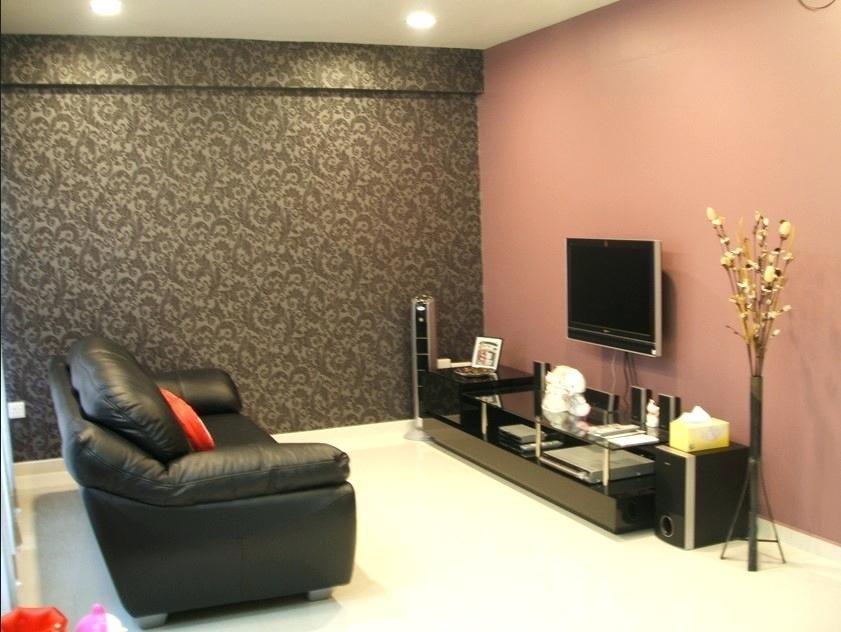 TV Akzentwand Pinterest - moderne steinwande wohnzimmer