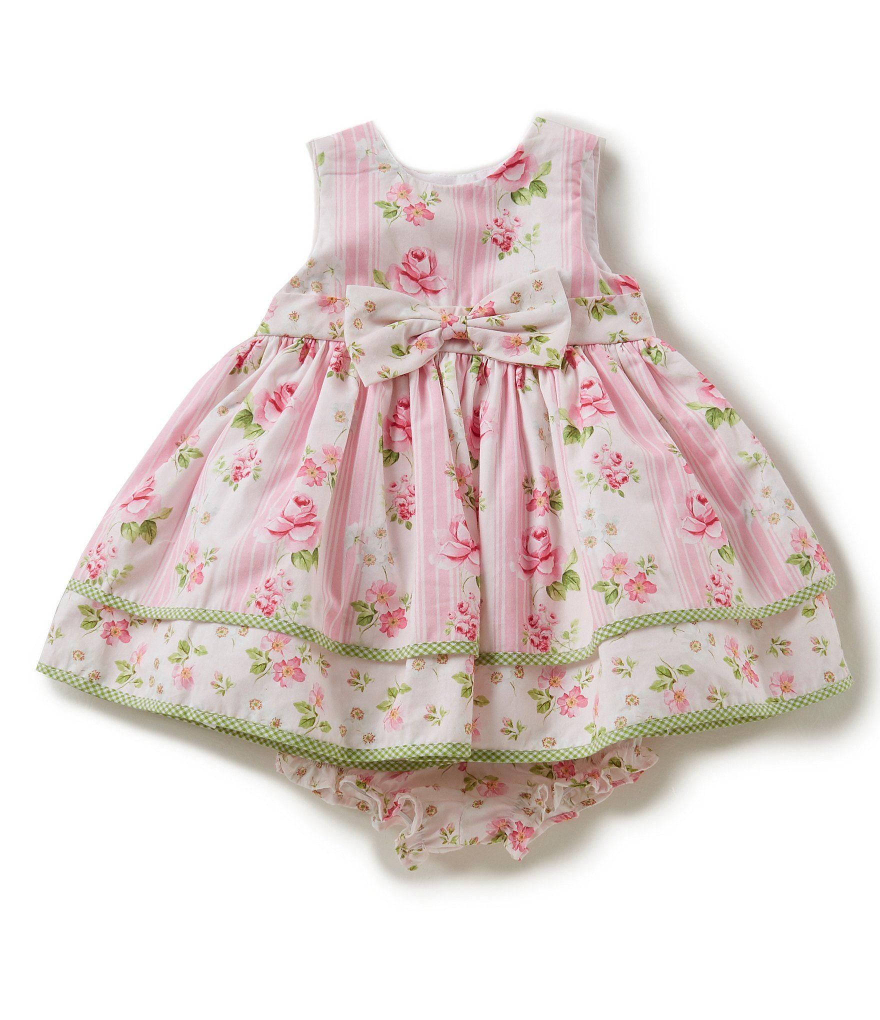 Laura Ashley London Baby Girls Newborn 24 Months Sleeveless Floral