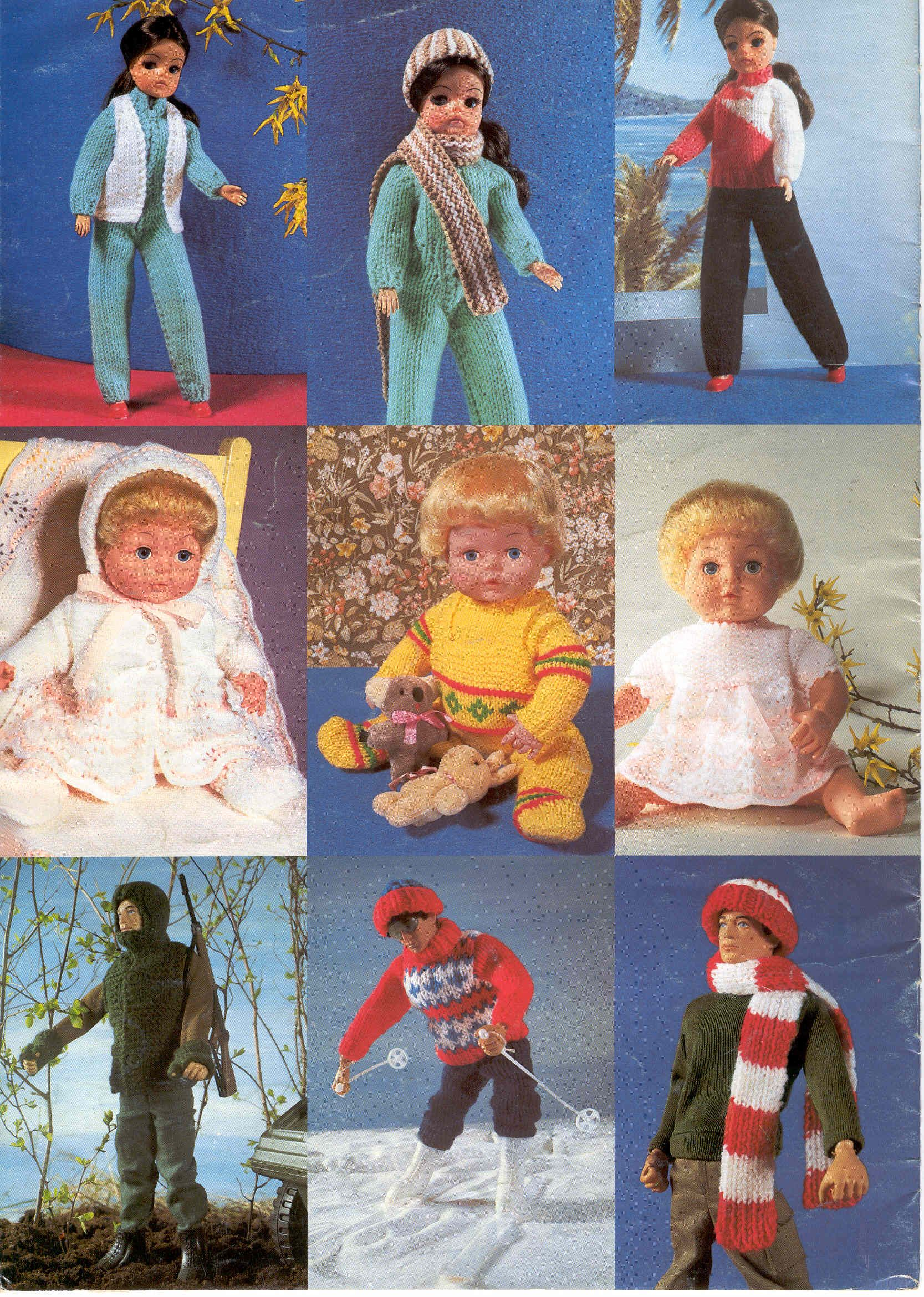 Album Archive Knitted Doll Patterns, Doll Clothes Patterns, Knitting Dolls  Clothes, Crochet Barbie