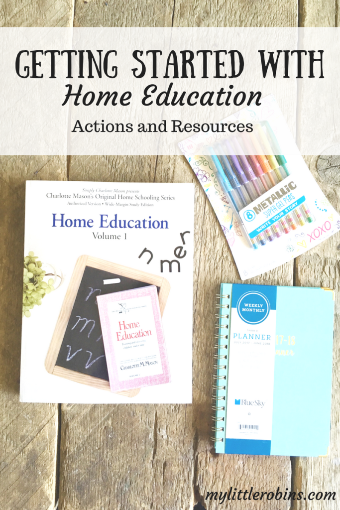 Photo of Getting Started with Home Education – My Little Robins