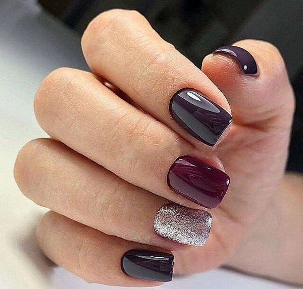 Chic Burgundy Nail Designs For Winter 2019 Winter Nail Designs