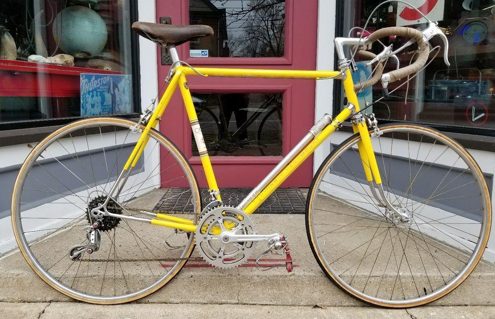 1969 70 Schwinn Paramount Yellow 59cm Campagnolo Record Touring Reynalds 531 Schwinn Bike Shop Yellow