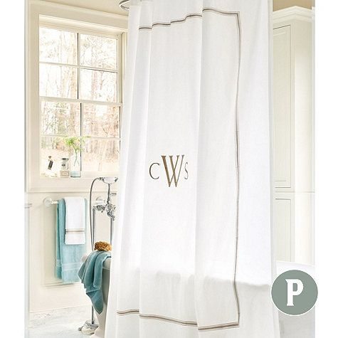 89 Ballard Designs 84 Amelie Embroidered Shower Curtain I Like Spa But