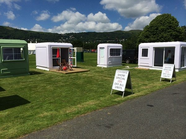 Portable Modular Buildings at the Three Counties in Malvern