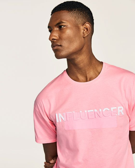 Image 4 of 'INFLUENCER' T-SHIRT from Zara