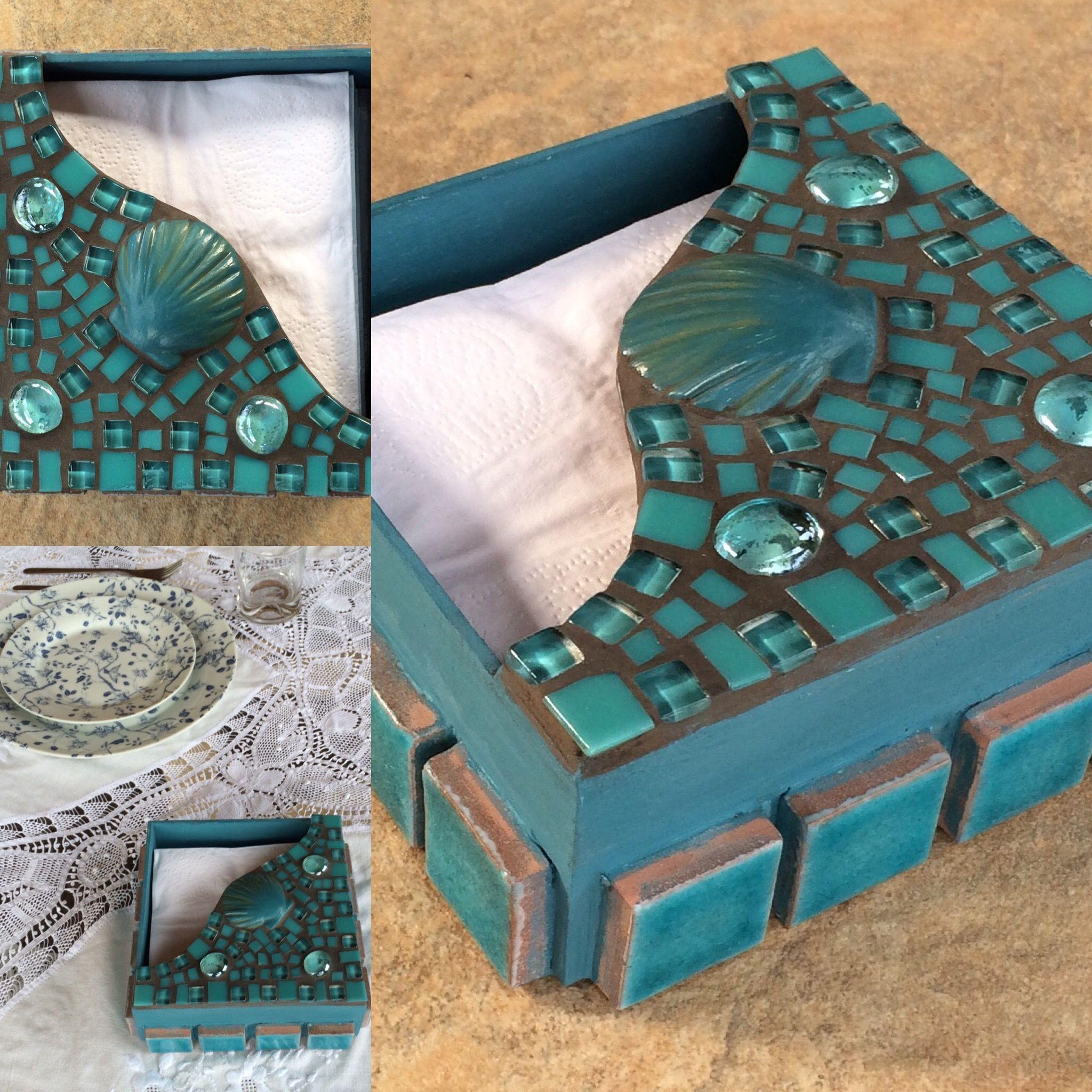 #portaguardanapos#dmosaics #mosaico #artesanato #presente #casa
