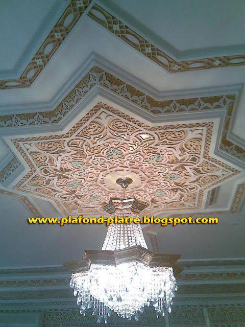 plafond platre l gance faux plafond pinterest On style faux plafond