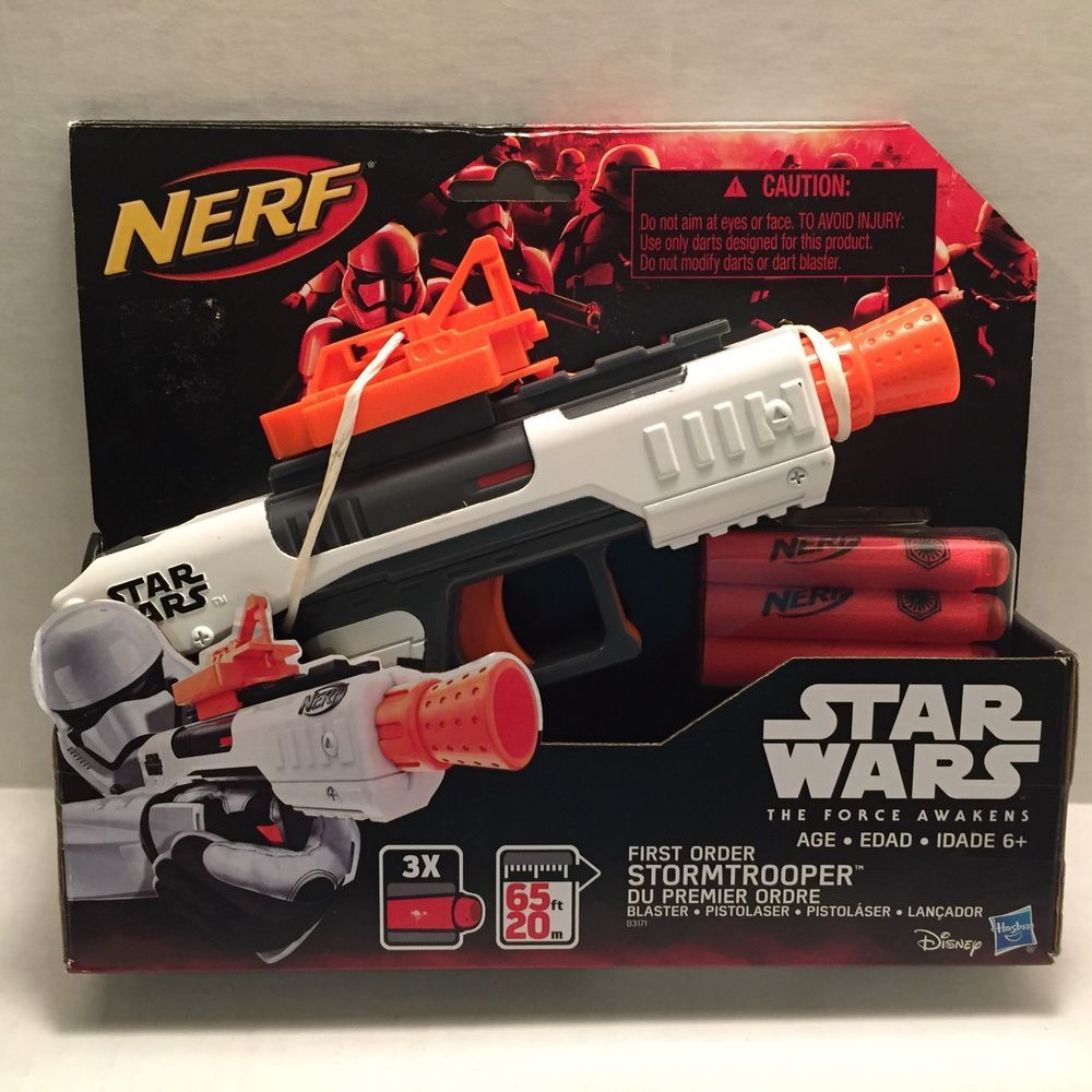Image is loading NEW-Star-Wars-Nerf-GlowStrike-First-Order-Heavy-