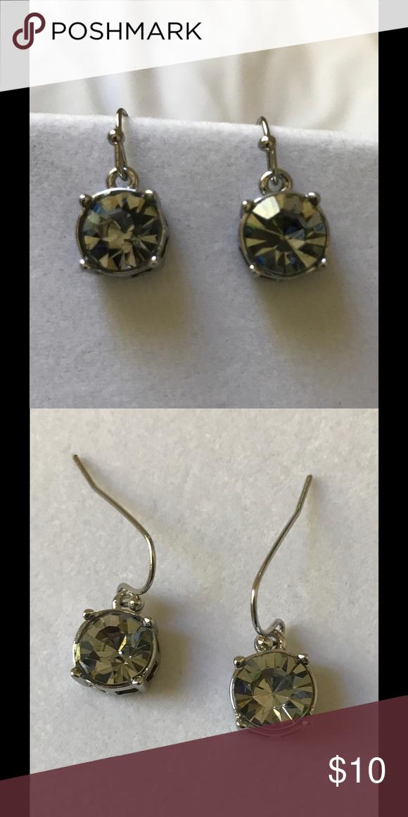 WHITE HOUSE BLACK MARKET CRYSTAL EARRINGS NWOT WHBM PIERCED EARRINGS. SORRY NO TRADES White House Black Market Jewelry Earrings