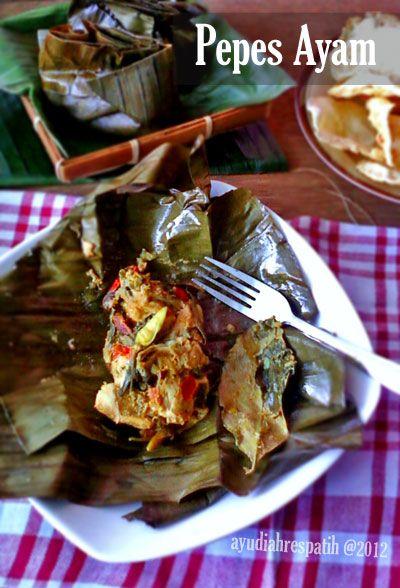 Pepes Ayam Resep Masakan Malaysia Makanan Pedas Resep Masakan