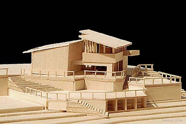 Architectural Model Malibu Home General Home Architecture Model Architecture Model Making Facade Architecture Design