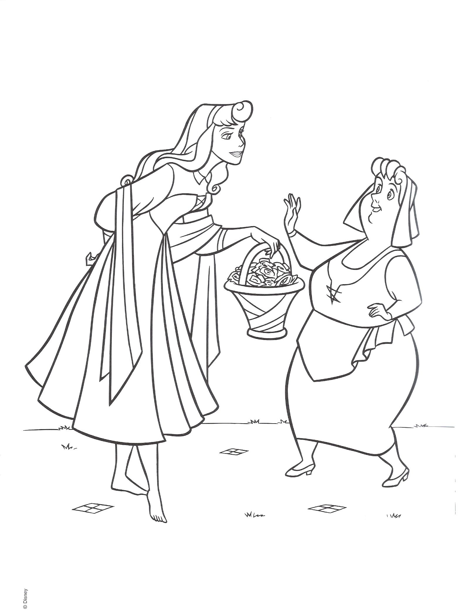Sleeping Beauty Coloring Page Sleeping beauty coloring