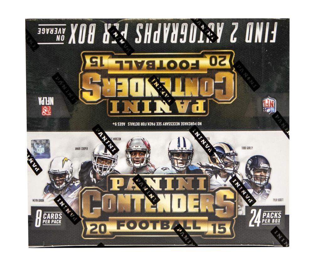 2015 panini contenders football 24pack box 2 autosbox