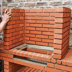 Réaliser un barbecue prêt à assembler en briques réfractaires en 2020   Brique réfractaire ...