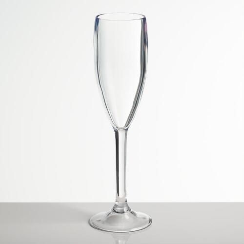 Wedding Centerpieces That Won T Cost You The World Versus: Acrylic Champagne Flutes Set Of 4