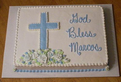 Baptism Sheet Cake On Pinterest Sheet Cakes Decorated