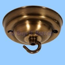 Antique Brass Ceiling Rose For Light Ings Chandeliers Made In Uk