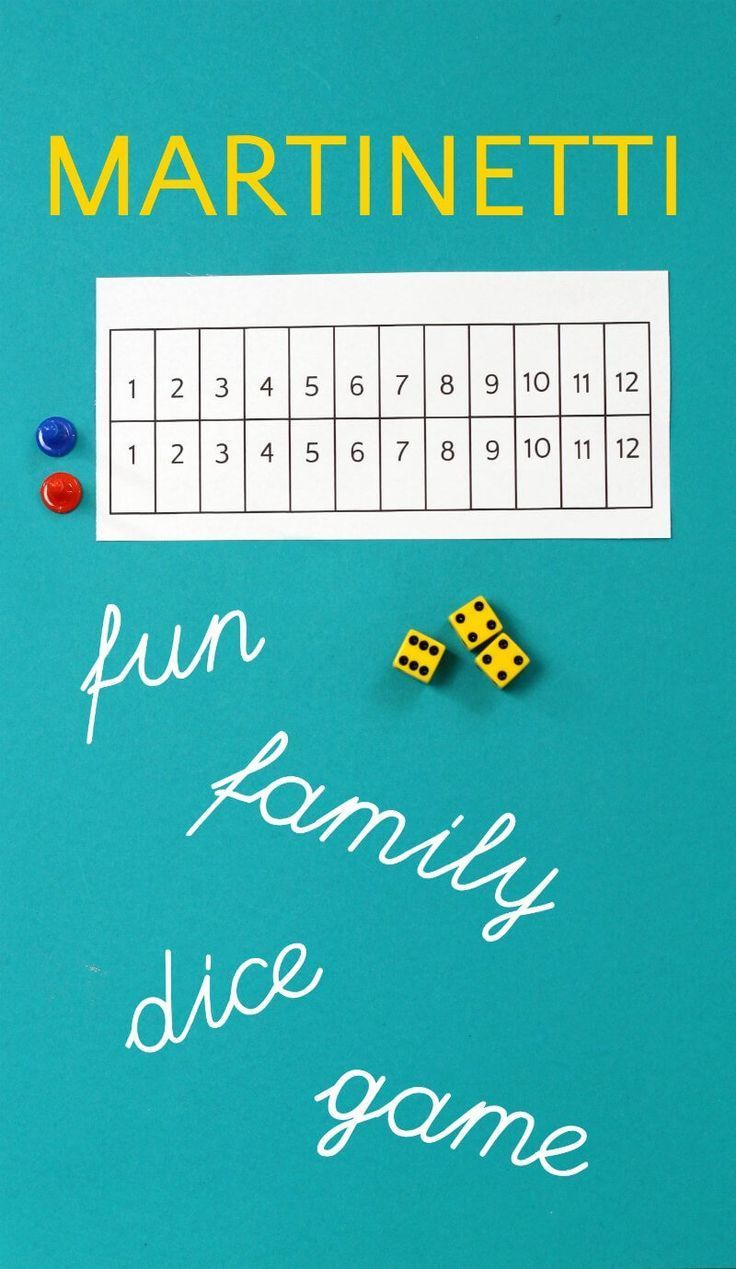 Martinetti Dice Game: A Nail-Biting Family Game of Chance | Math ...