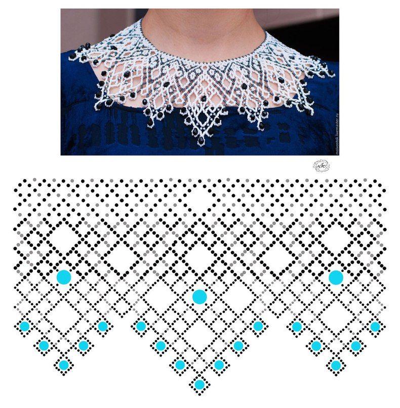 Pin de Mina Kias en Crochet | Pinterest | Huichol y Collares