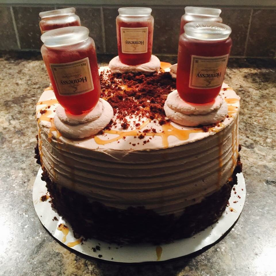 Hennessy cake pinterst blessed187 sweets recipes