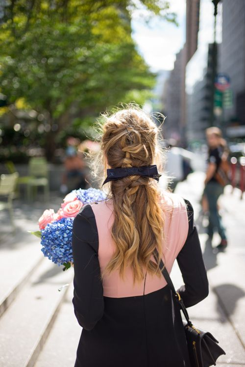 NYFW Recap, braided hair styled by TRESemmé