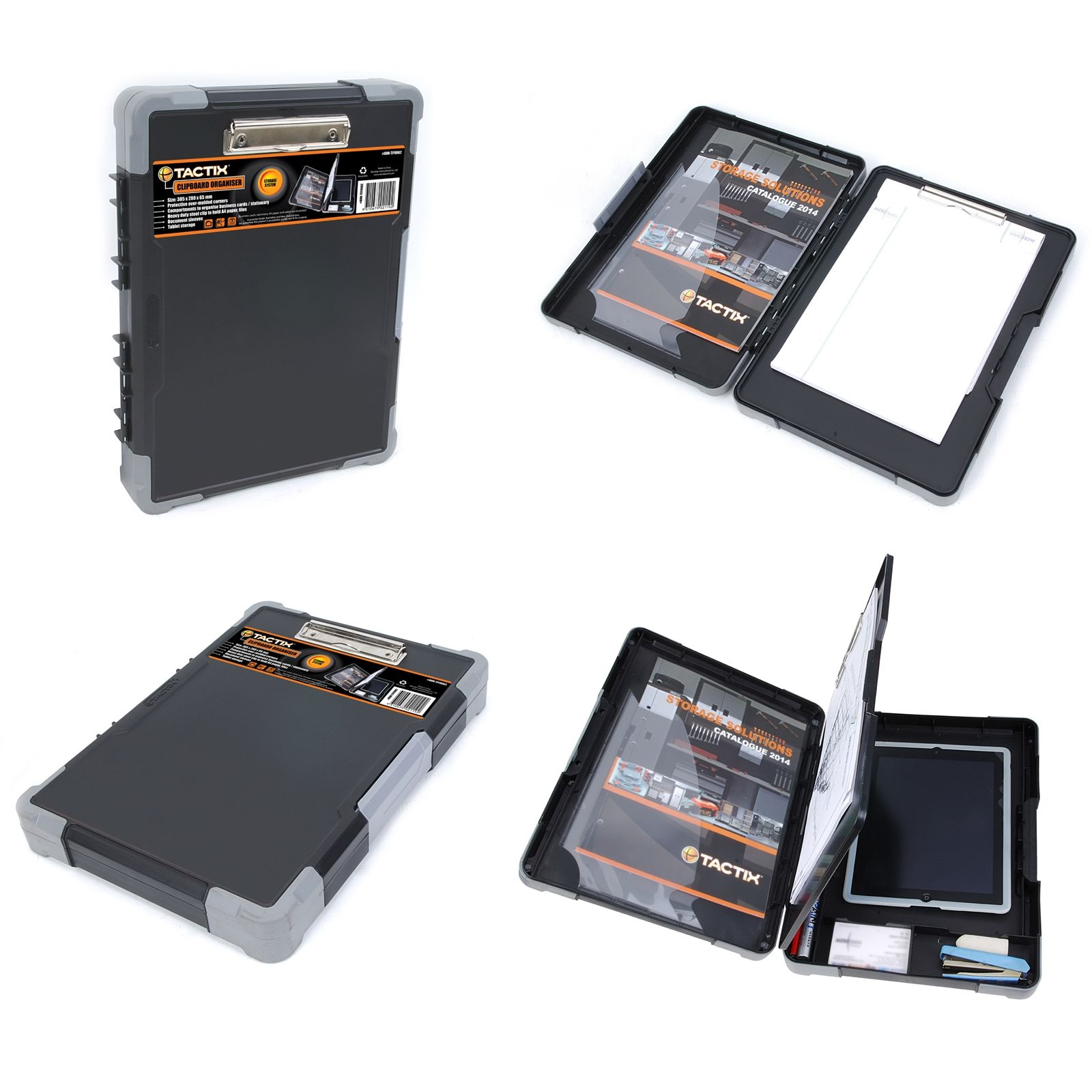 Tactix Clipboard Organiser Organization, Clipboard, Tool