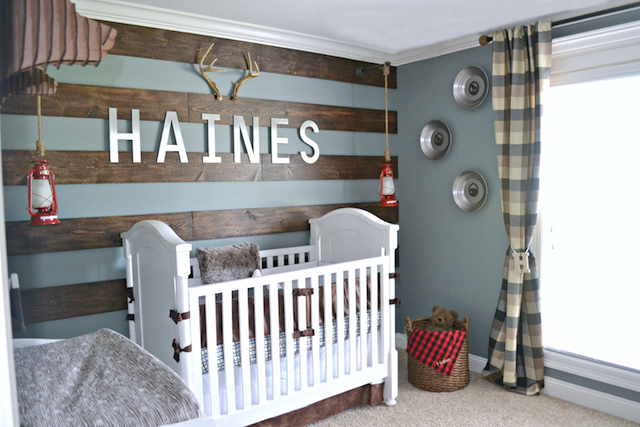 Make Way For Baby 11 Boy Nursery Ideas From Pinterest Rustic Room Rooms