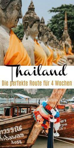Thailand Urlaub: Die perfekte Route mit allen Highlights für 4 Wochen - Urlaub -