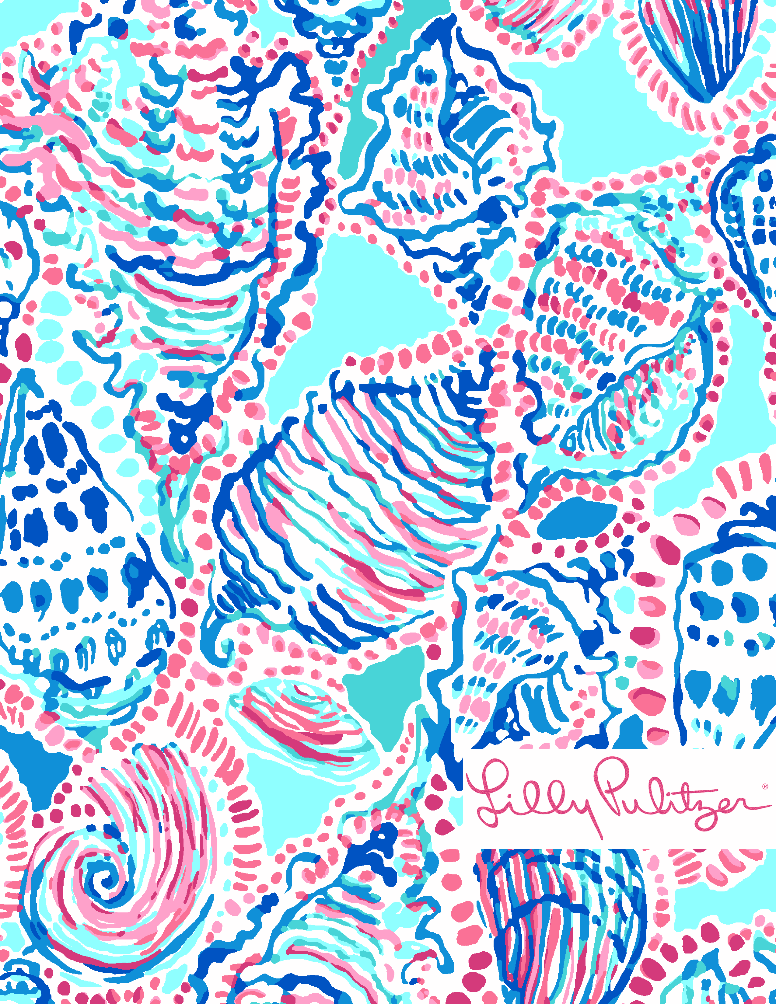 Lilly Pulitzer Shell Me About It Lily Pulitzer Wallpaper Lilly