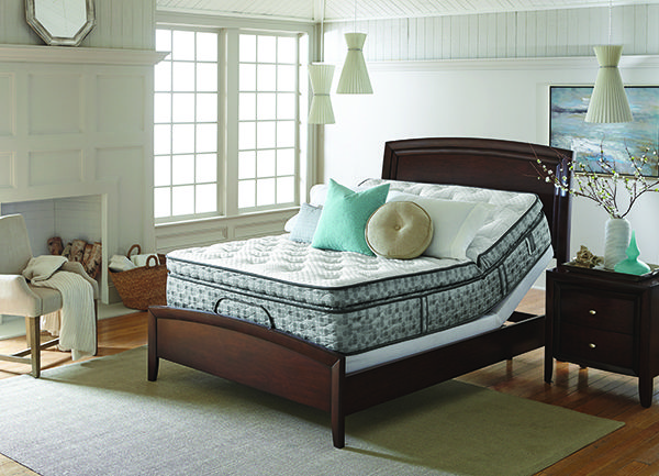 Love the way this mattress from DreamHaven by Serta can move! #GBAmattress #SertaMattress #DreamHaven