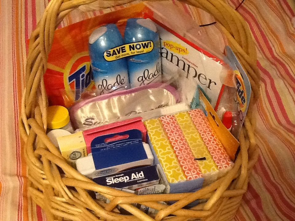 College Gift Basket Tide Pods Tide Stain Remover Clothes Hamper