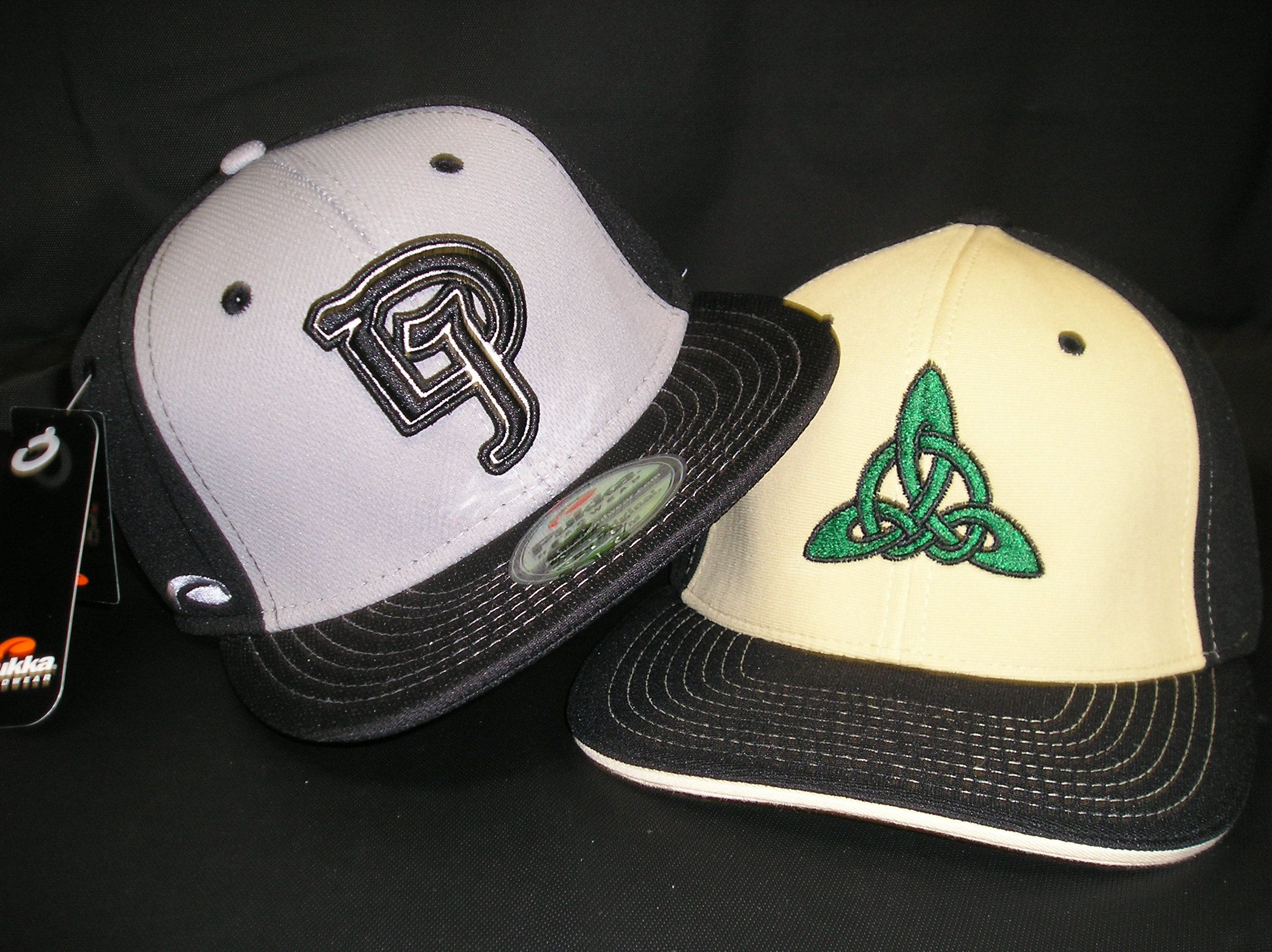 313c6fdbe16 Support your local sports teams with custom headwear like these Pukka  (left) and Pacific Headwear (right) caps supporting our local Dublin Jerome  athletic ...