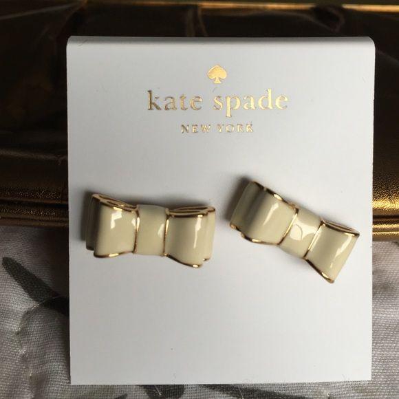 Kate Spade Bow Earrings NWT kate spade Jewelry Earrings