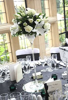 vase verre martini sur pied g ant centerpieces pinterest martinis mariage and art floral. Black Bedroom Furniture Sets. Home Design Ideas