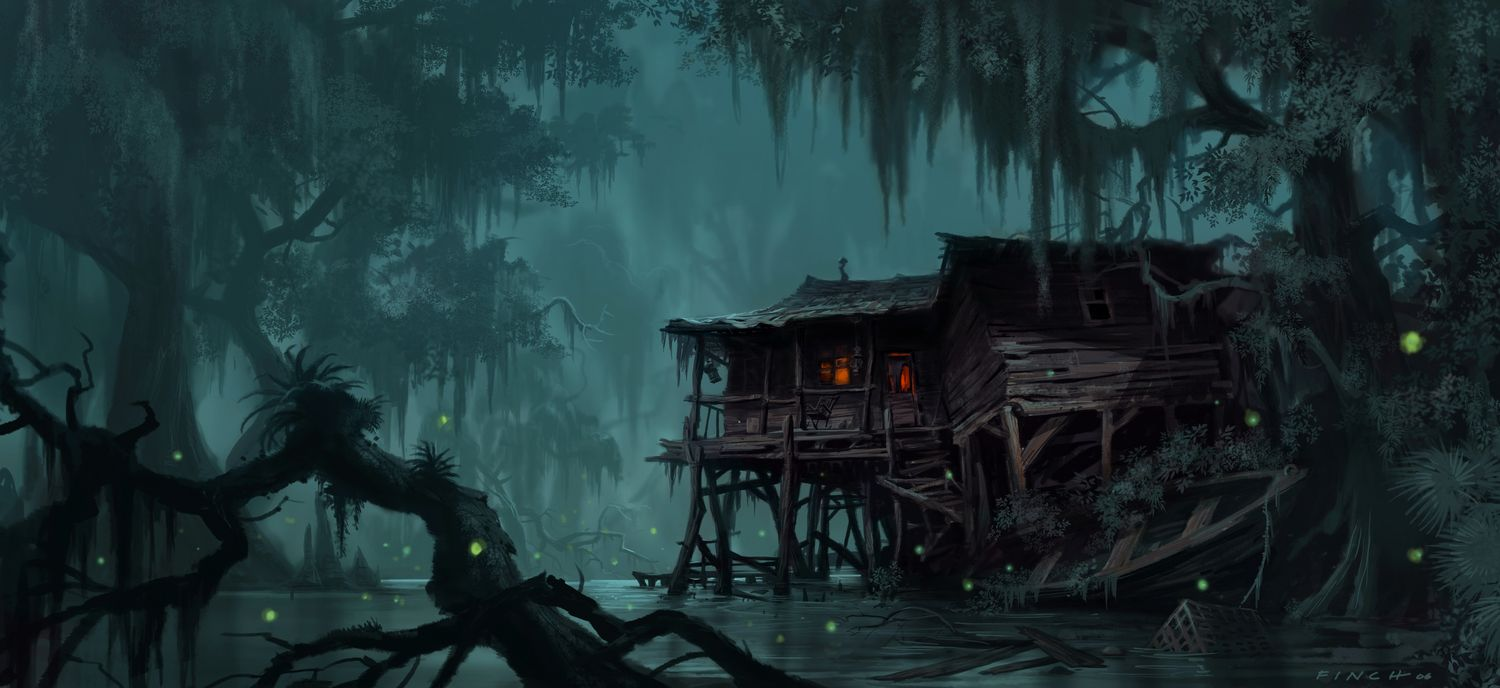 Discover The Art Of James Finch An American Concept Artist Who