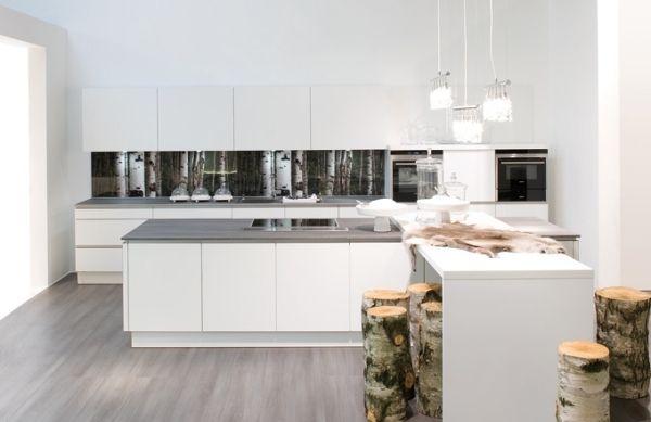 naturholz elemente moderne designer küchen nolte Bedburg - nolte küchen bilder