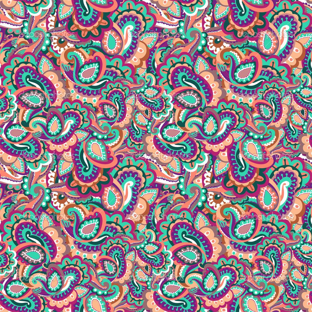 colorful paisley computer background - Google Search ...