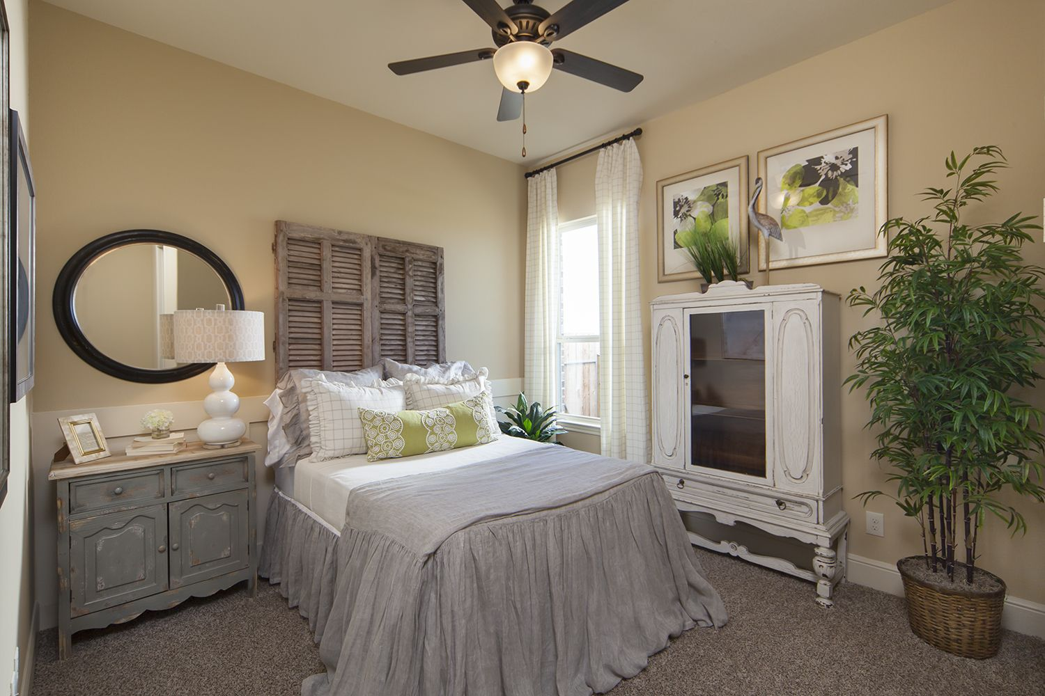Love this Country Bedroom New home builders, Coventry