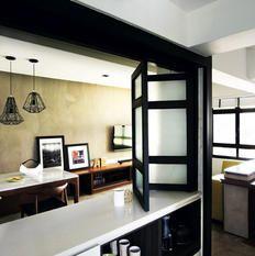 semi open concept home kitchen maison salle manger d co maison. Black Bedroom Furniture Sets. Home Design Ideas