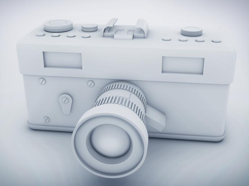 Vintage Camera ( 3d model )