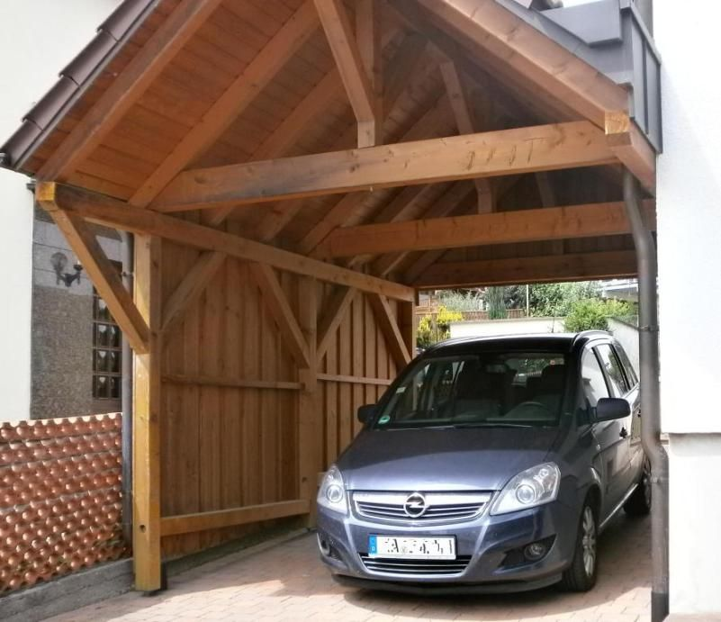 carport clever erweitern selber bauen carport holz. Black Bedroom Furniture Sets. Home Design Ideas