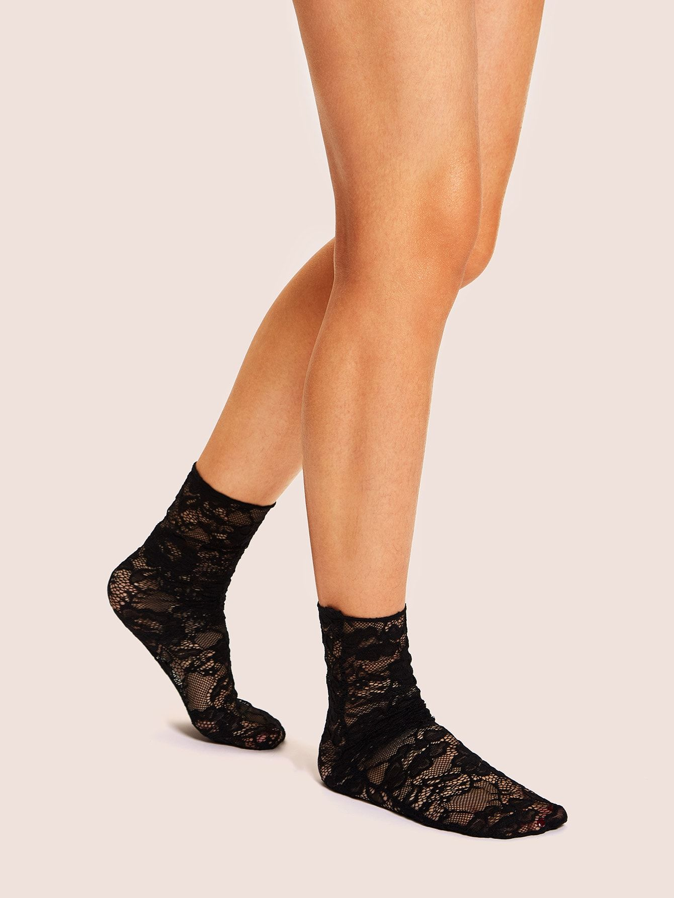 34db177dc7 Lace Floral Ankle Socks in 2019 | Fanny Pack | Lace socks, Ankle ...