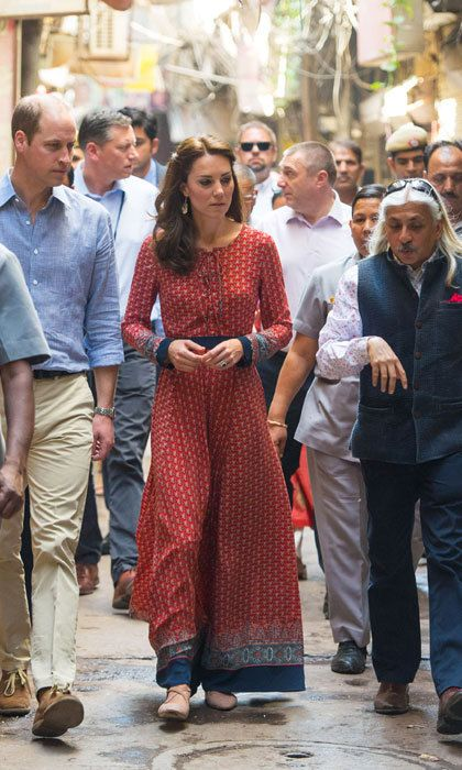 c4b2b708d53 Kate Middleton adds personal touch to her Anita Dongre maxi dress to make  it her own - HELLO! US