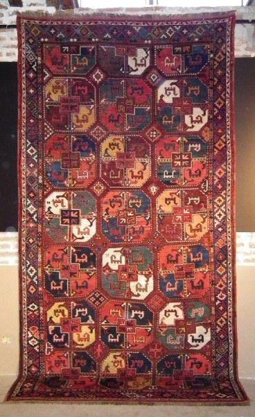 Uzbek Karakalpak rug, 19th c