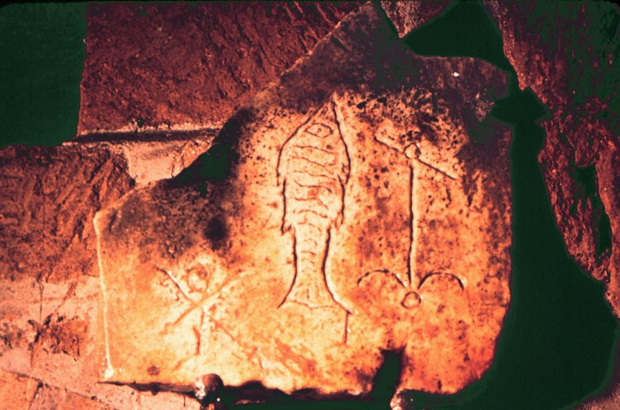 Chi Rho Fish And Anchor Symbols Pinterest Chi Rho